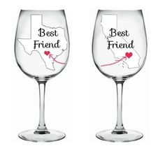 Best Friend Wine Glass. Best Friend Wine Glass on Tradesy Weddings (formerly Recycled Bride), the world's largest wedding marketplace. Price $28.00...Could You Get it For Less? Click Now to Find Out!