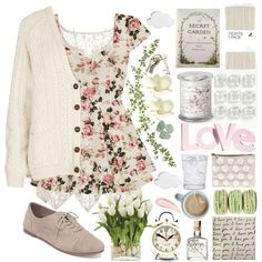 Loving in the Secret Garden, created by rever-de-paris on Polyvore