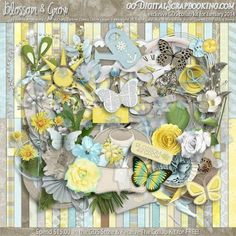 Blossom and Grow - January 2014 Monthly Collab Kit