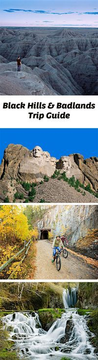 Geology and history promise all kinds of adventures in South Dakota's Black Hills and Badlands. Trip guide: www.midwestliving… Source by South Dakota Vacation, South Dakota Travel, South America Travel, North Dakota, Bad Lands South Dakota, Sturgis South Dakota, Deadwood South Dakota, Rapid City South Dakota, Vacation Trips