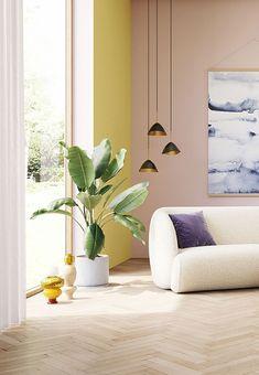 Rosa Sofa, Rumble In The Jungle, Botanical Decor, 3 Seater Sofa, Bunt, Maya, Room Decor, Living Room, Interior
