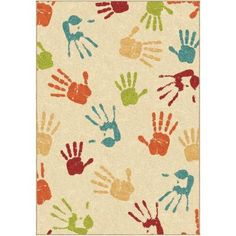 Orian Rugs Hands Down Ivory 5 ft. 3 in. x 7 ft. 6 in. Indoor Area Rug - 283877 - The Home Depot