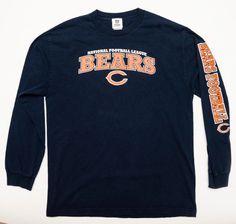 725b72af6 Cool item  Chicago Bears Blue Long Sleeves T Shirt Bears Football