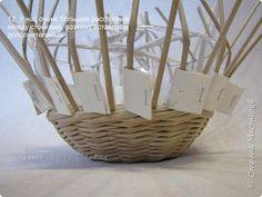 Master Class di Pasqua artigianato prodotto Weaving Laboratorio delicato Pasqua Parte pollo che da giornale di carta Tubes Photo 14