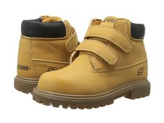 SKECHERS KIDS Mecca - Sawmill 93159N (Toddler) Wheat/Natural - Zappos.com