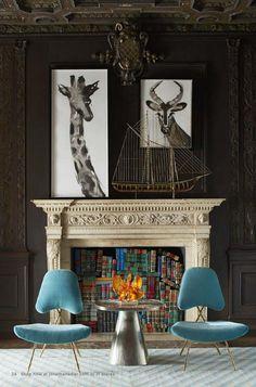 Fireplace Decorating Ideas 20