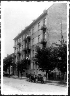 Krakow, Poland, The Gestapo building in the ghetto.