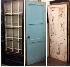 I salvage every door I come across. Salvaged by Urban Chic Decor.