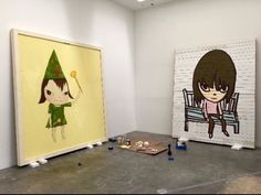 Yoshitomo Nara, Picture Engraving, Themes Themes, Urban Art, Painting & Drawing, Paint Colors, Colours, Fine Art, Gallery