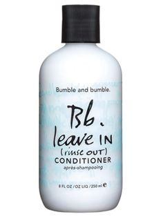 Bumble and Bumble Leave in (Rinse Out) - InStyle Best Beauty Buys 2005 Winner #instylebbb