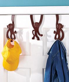 I ordered these for Nathan's room, he has a monkey towel to go with it.