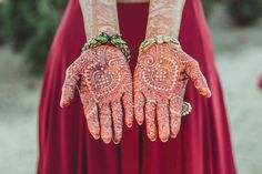 Neetal + Saumil: An Intimate Indian Wedding - The Details - Weddingstar Blog