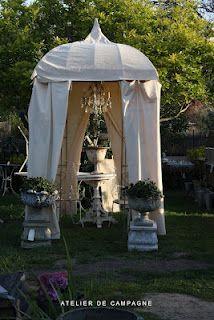 Garden Tent via Atelier de Campagne