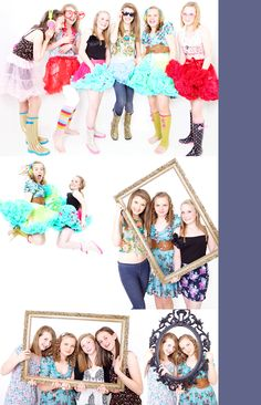 please let me know who the photographer is if you know....love these ideas for a teen girl's photo shoot