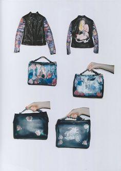 Claire Barrow's DIY Leather Punk. #ClaireBarrow #Fashion #Leather  www.thebridgeco.uk