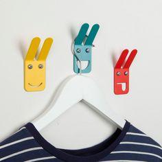 Emoji-Style Wall Hooks by ohh...ahh! #MONOQI