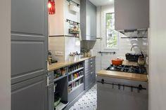 pisos pequeños en paris 65 metros interiorista Charlotte Vinet - Tacones lejanos | Galería de fotos 1 de 17 | AD