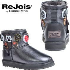 Rejois By Gianni Renzi - открывают новый уровень стиля и тепла :)  Примерить ➤➤ #modoza #rejoisbygiannirenzi #угги #fw1617