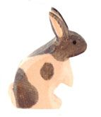 Wooden handcrafted bunny by Ostheimer