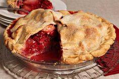 Almond Pear Cranberry Pie