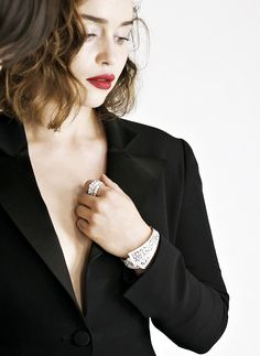 dailyemilia:    Emilia Clarke is new face of the Rose des Vents fine jewellery collection for Dior