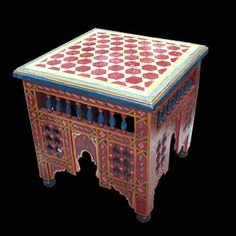 hand painted chairs | buying furniture direct in morocco importing furniture from morocco ...