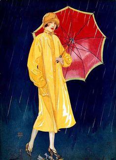 umbrellas.quenalbertini: Slicker & Umbrella