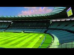 Maquete eletrônica do estádio Plácido Aderaldo Castelo (Castelão) para a Copa do Mundo da FIFA Brasil 2014, apresentada oficialmente durante Coletiva de Imprensa realizada no dia 25 de julho de 2011 pela Secretaria Especial da Copa 2014 do Estado do Ceará.