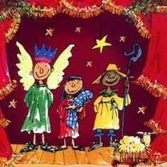 Pack of 10 Quentin Blake British Heart Foundation Charity Christmas Cards… Christmas Nativity, Christmas Art, Christmas Decorations, Quentin Blake Illustrations, Charity Christmas Cards, Online Greeting Cards, Roald Dahl, Jingle Bells, Matilda