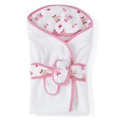 princess posie baby bath wraps   aden + anais USA