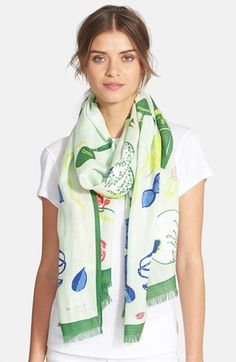 kate spade new york 'lady bug picnic' scarf available at #Nordstrom