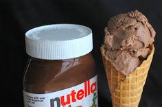 Barefoot and Baking: Nutella Gelato