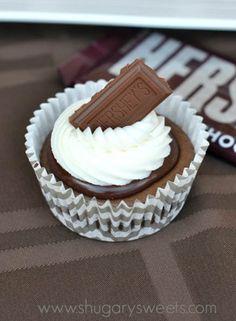S'more Cheesecake Cupcakes