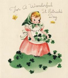 Vintage St. Patrick's Day greeting.