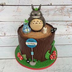 Awe Inspiring 312 Best Totoro Cakes Images Totoro Cake Cupcake Cakes Funny Birthday Cards Online Aeocydamsfinfo