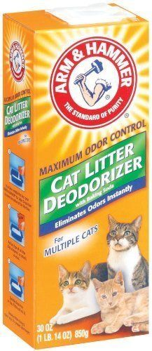 Pack of 2 30 OZ Cat Litter Deodorizer Quickly Freshen Up Your Cat Litter Box -- For more information, visit image link.