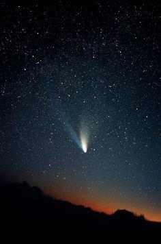 Comet Hale-Bopp taken March 1997 by Robert Malinowski