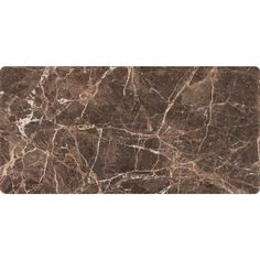 MS International Emperador Dark 3 in. x 6 in. Tumbled Marble Floor and Wall Tile (1 sq. ft. / case)