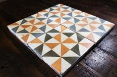Encaustic Ferrol - Spanish Tiles | Reclaimed Tile Company