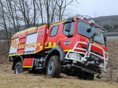 Firefighter Apparatus Trends in 2012 and Beyond: Spartan recently announced a partnership with two French manufacturers. Pictured is a Spartan Crossover wildland 4x4 vehicle built on a Renault chassis in collaboration with Gimaex. Photo courtesy Spartan