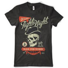 Fight Night T-shirt clip art