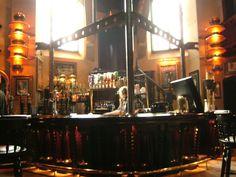 Frankenstein-themed bar.  So cool.
