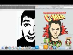 With this tutorial you can make yourself look like if you're from a comic book.