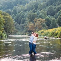We had such a great time with Katie + Carl! Here's a little preview from their engagement session in Todd, NC @revivalphotos #revivalphotography #revivalweddings #engagement #esession #toddnc #canoe #engagementsession #engaged #love #adventures #photography #romance #river