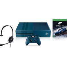 Console Xbox One 1TB Edição Especial Forza + Forza Motorsport 6 Microsoft (Via Download)