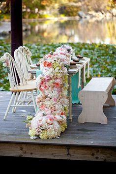 Resultado de imagen de enchanted garden wedding ceremony