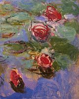 Water Lilies - Claude Monet So much like the pond and garden that he made and used for inspiration.  A must see.