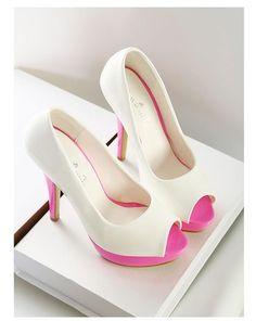$17.73 Platform peep toe personalized fashion dress shoes