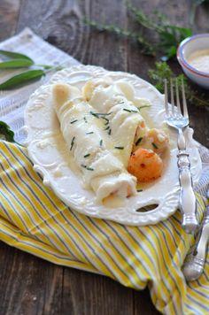 Crepes Seafood Mornay -- VRAI Magazine
