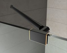 Hardware Zoom, Support Hardware, Oil Rubbed Bronze Finish Shower Alcove, Frameless Shower Doors, Pivot Doors, Shower Enclosure, Oil Rubbed Bronze, Bronze Finish, Clear Glass, Shelving, Wall Lights